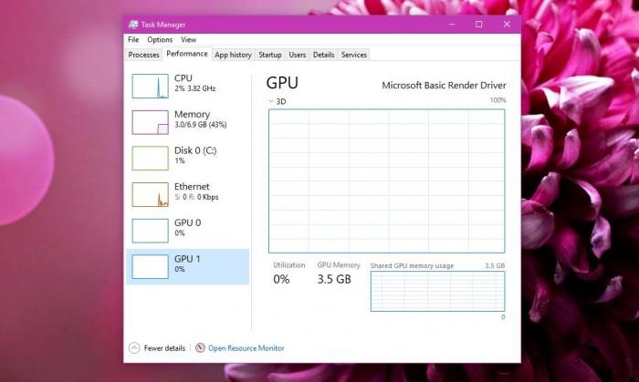 "Windows 10最新预览版""任务管理器""增加GPU性能追踪的照片 - 1"