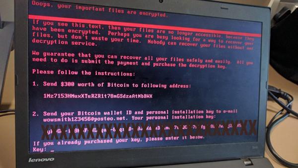 全新勒索恶意软件Petrwrap攻击欧洲航空公司、银行和公用事业的照片 - 1