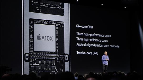苹果A10X揭秘:10nm工艺/6核CPU+12核GPU的照片 - 1