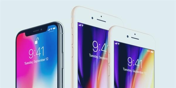 刘海神坑 5.8寸iPhone X有效显示面积竟不及iPhone 8的照片 - 1