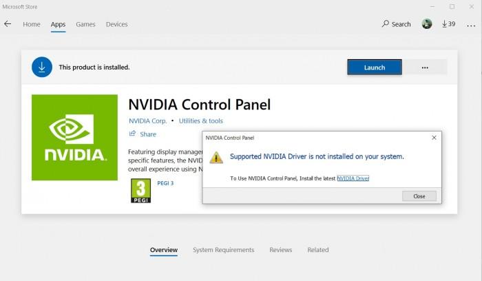 NVIDIA控制面板应用登陆Win10的照片 - 1