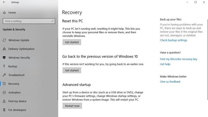 如何通过系统还原点恢复Win10十月更新误删的文件的照片 - 2