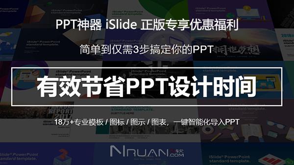 PPT神器 iSlide 正版专享优惠福利的照片 - 1