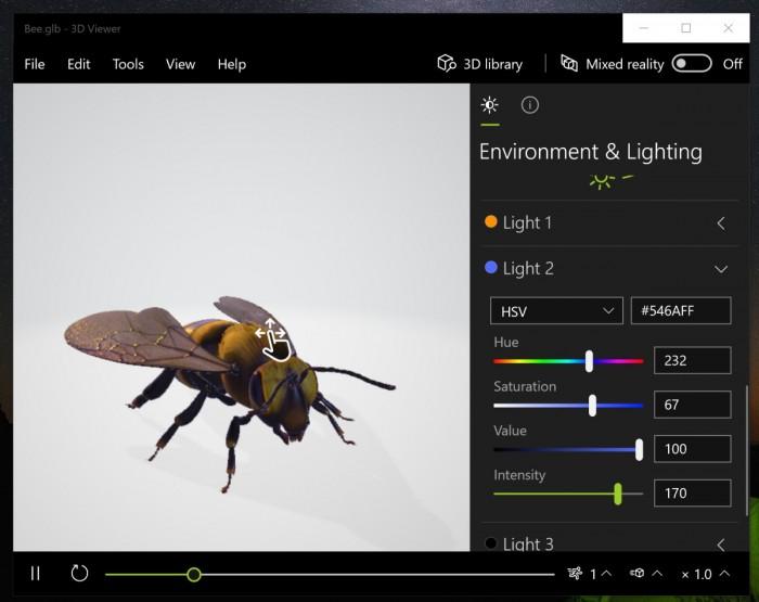 微软3D Viewer正式面向所有用户开放的照片