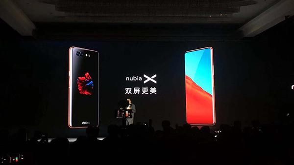努比亚发首款护眼双屏手机努比亚X 3299元起的照片 - 2