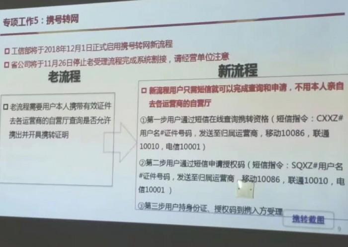 携号转网最新进展:天津等五省市需八大条件,北上广深还在路上的照片 - 2