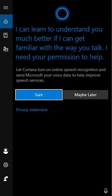 微软在Win10上引入了单独的搜索和Cortana选项的照片 - 3