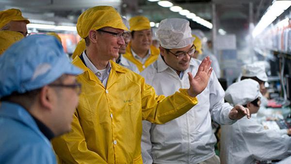 若关税加至 25% 供应链考虑将iPhone产线移出中国的照片