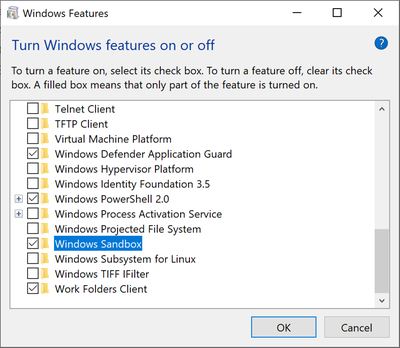 微软总结Win10 Sandbox沙箱的功能和亮点的照片 - 3