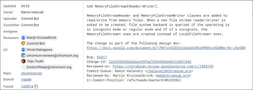 Google修改Chrome API 防止隐身模式检测的照片 - 2