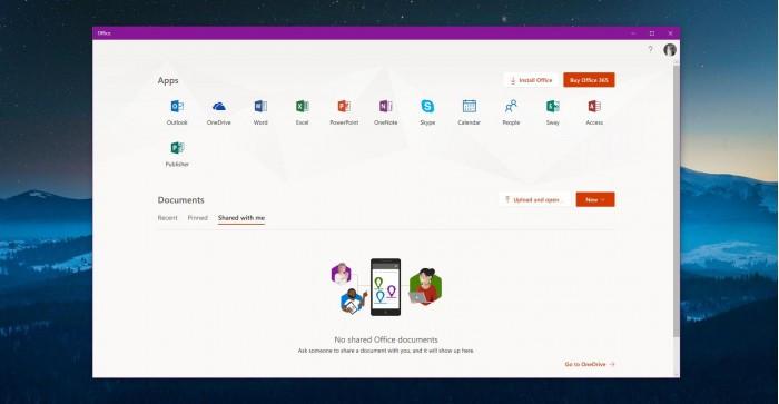微软新推出的Win10 Office应用上手体验的照片 - 1
