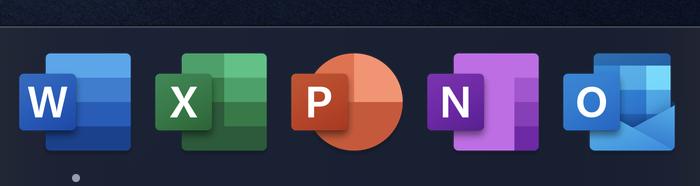 Office for Mac最新预览版已启用新版图标的照片 - 4