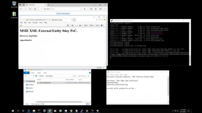 IE11浏览器被爆安全漏:可远程窃取本地PC文件的照片
