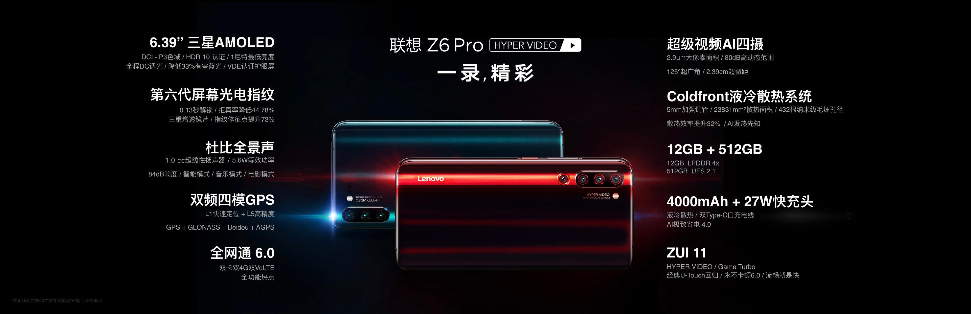 联想Z6 Pro正式发布 骁龙855加持带来超级视频AI四摄的照片 - 5