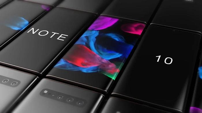 Concept Creator放出Galaxy Note 10新概念渲染视频的照片 - 2