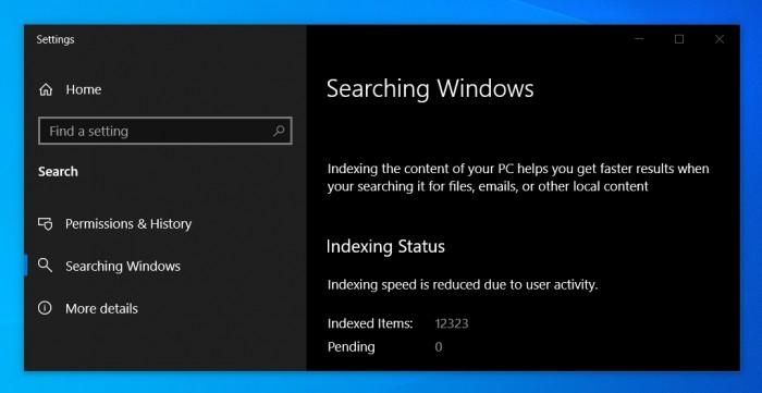 更快全盘搜索:Win10 May 2019将增强用户搜索体验的照片 - 4