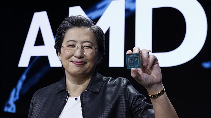AMD CEO苏姿丰否认离职:我爱AMD的照片