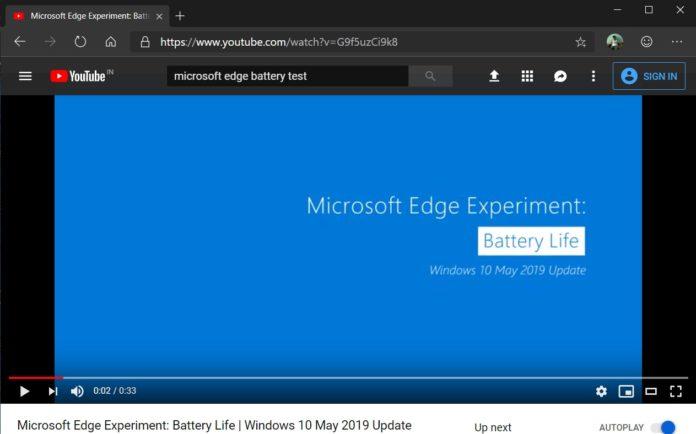 微软助力Chrome提升在Win10平台上的流媒体播放效率的照片