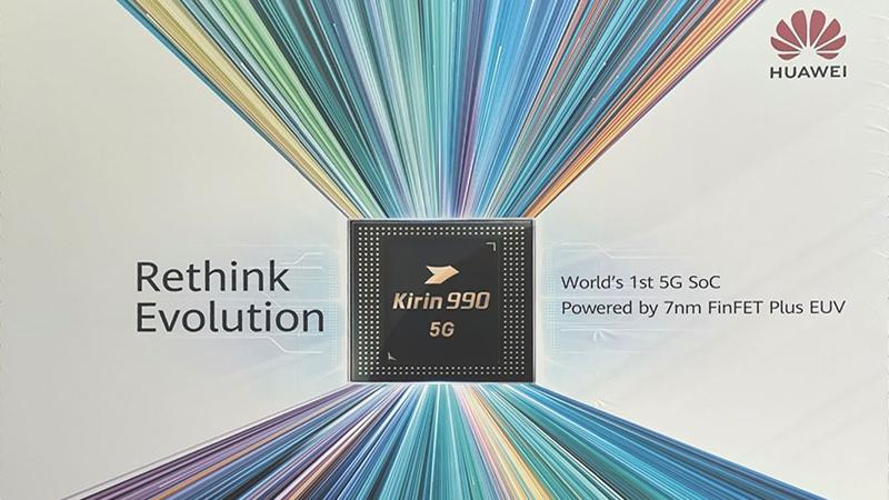 全球首款5G SOC 麒麟990系列即将登场的照片 - 1