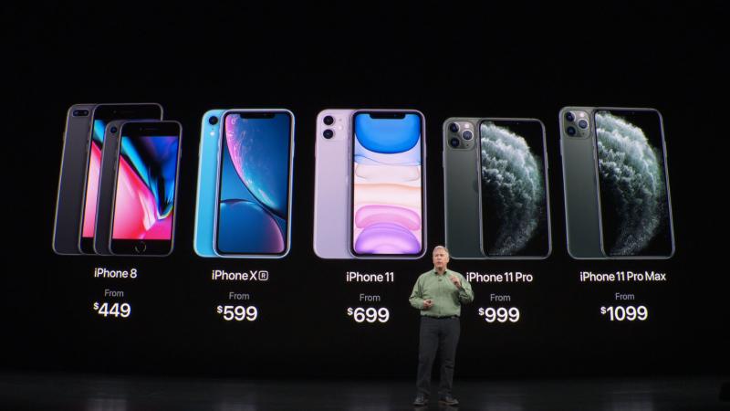 外媒批评iPhone 11系列:64G版就是一个笑话的照片 - 1