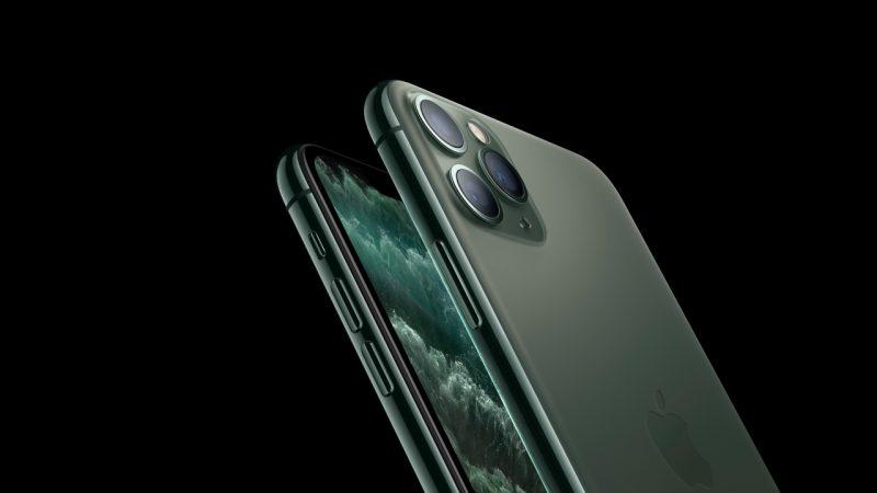 iPhone 11预售卖断货 但苹果市值蒸发了1300亿元