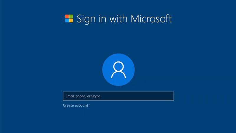 更新Win10,用户将被迫创建微软账户?