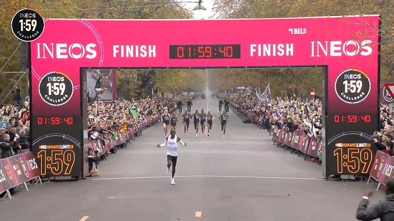 马拉松首破2小时的纪录不被国际田联认可
