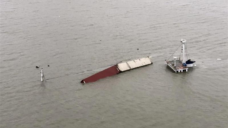 879吨双11商品随船沉海 淘宝启动赔付退款的照片
