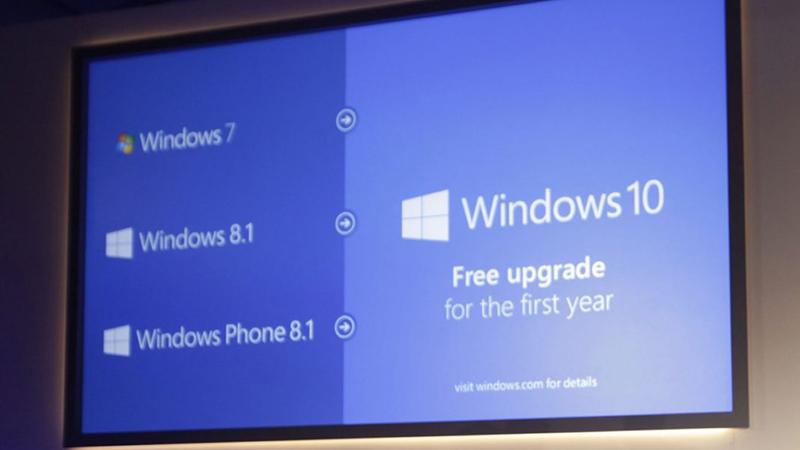 Win10免费升级优惠政策对某些用户依然有效的照片