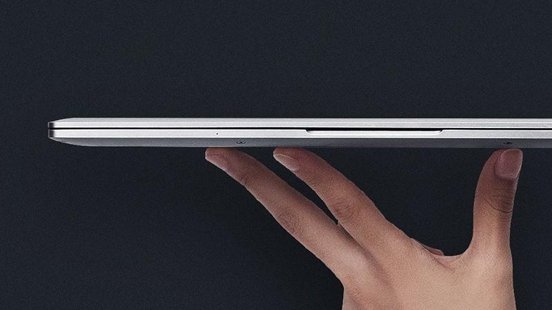 RedmiBook全面屏笔记本露真容:比一张A4纸还小