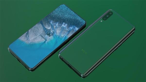 小米首款屏下摄像头手机MIX 4曝光:1月10日CES发布?