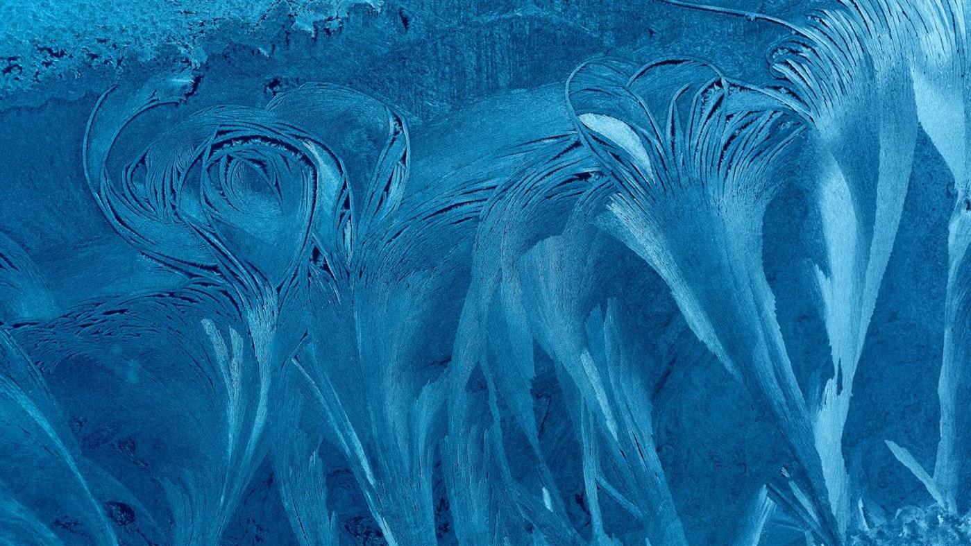 "Win10迎来冰花""Ice Crystals PREMIUM""4k免费主题的照片 - 5"