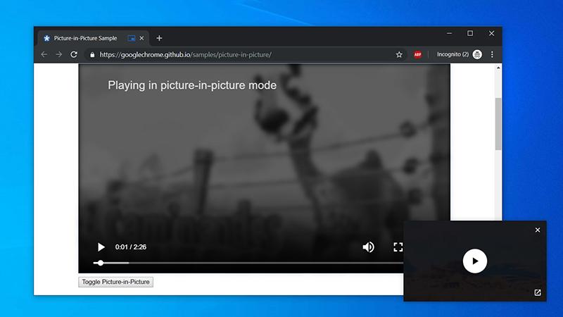 Chrome为Win10用户带来全局媒体播放控件
