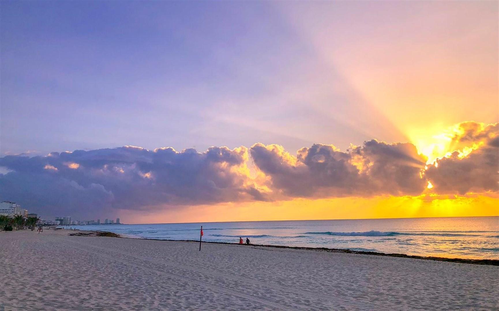 """Win10""""Beach Glow""""海滩美景免费主题发布的照片 - 3"""