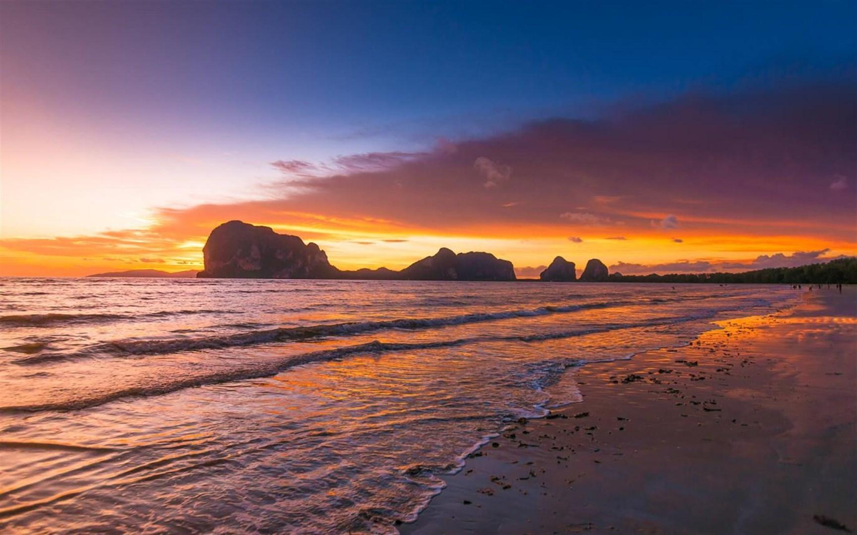"""Win10""""Beach Glow""""海滩美景免费主题发布的照片 - 4"""