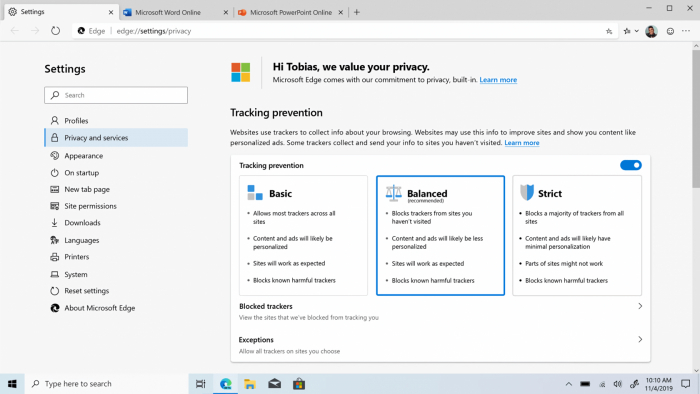 Chromium Microsoft Edge 浏览器开始推送下载的照片 - 3