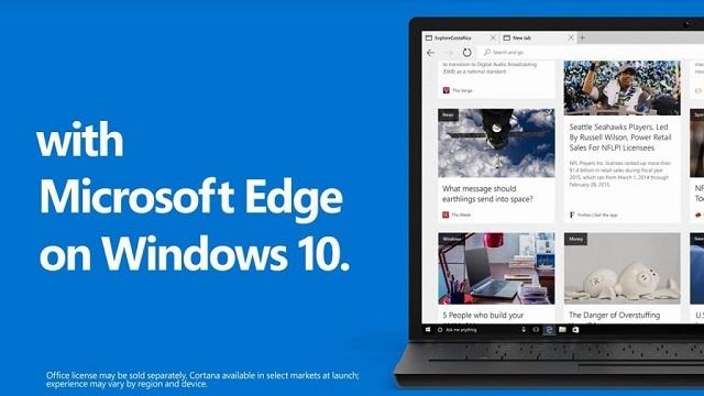 新版Edge浏览器将引入Win10上的Fluent Design风格