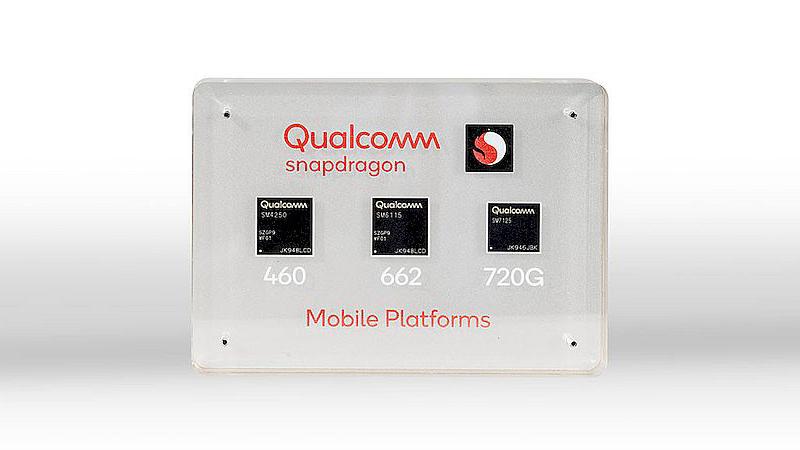 高通发布骁龙460/662/720G:目标4G市场 支持WiFi 6