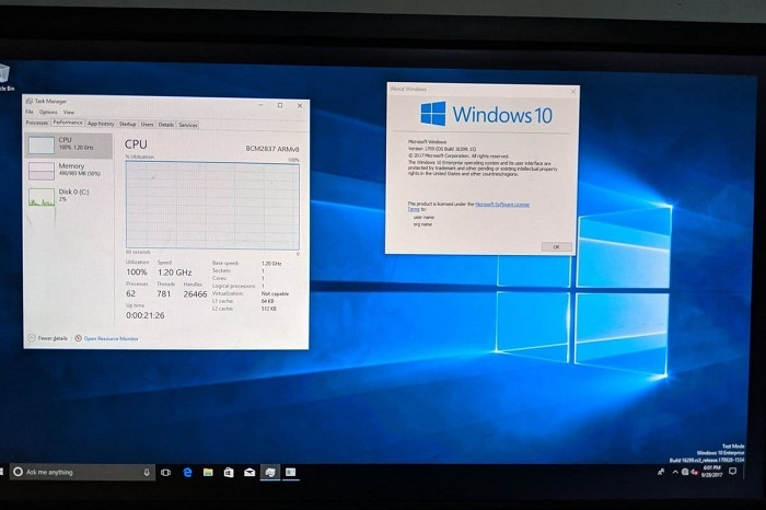 树莓派4迎来了运行Win10 ARM版的良好开局