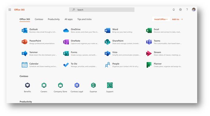 Office.com和Office 365应用启动器迎来体验更新的照片 - 4