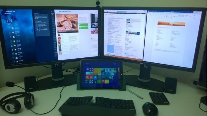 微软Win10 20H1将改善视频输出 支持多显示器配置的照片 - 1