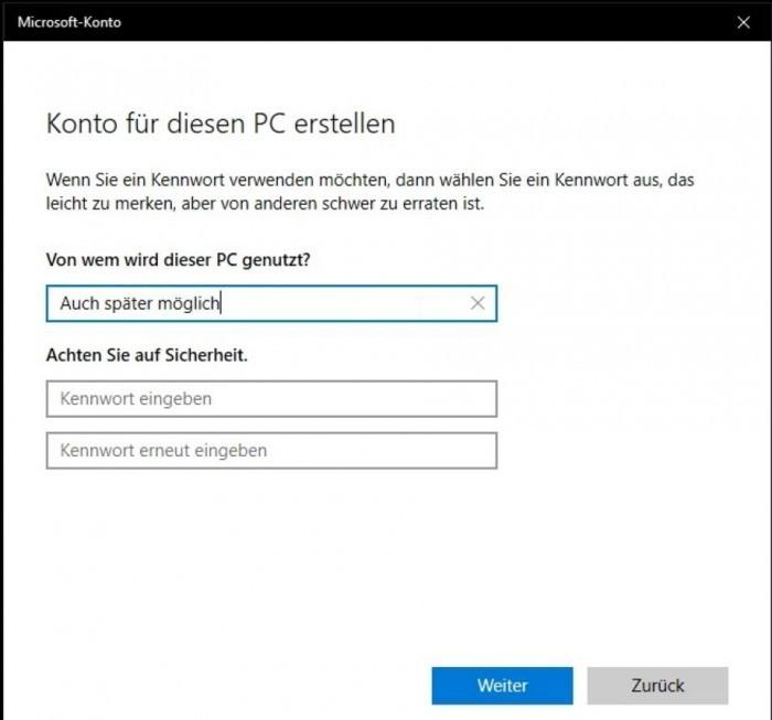 Win10开始隐藏本地帐号设置 强推微软账户的照片 - 3