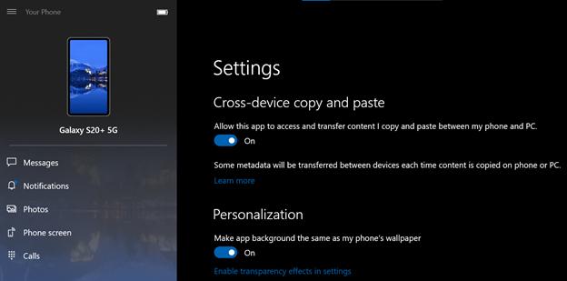 微软提供Win10和Android之间的复制和粘贴功能的照片 - 2