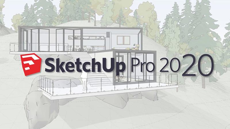 SketchUp Pro 2020 v20.0.373 绿色版