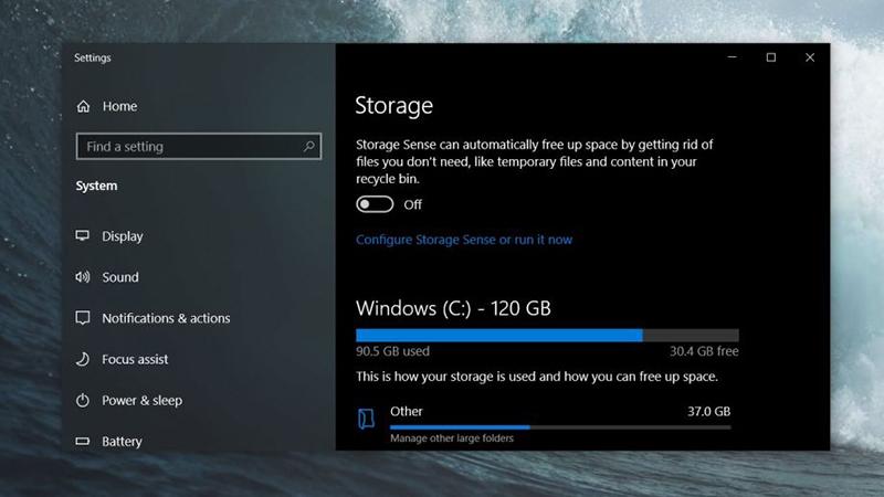 Win10存储设置新增清理推荐功能 更好释放磁盘空间的照片 - 1
