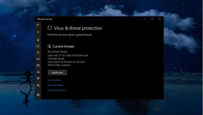 微软在Win10上为Windows Defender重新命名的照片 - 1