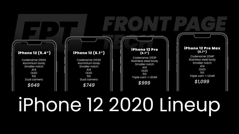 iPhone 12全系四款新机外形曝光:售价比iPhone 11便宜的照片 - 2