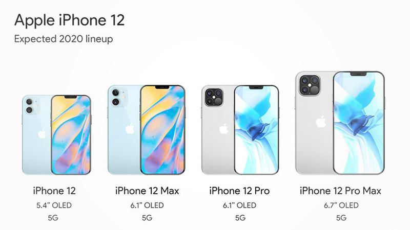 iPhone 12全系四款新机外形曝光:售价比iPhone 11便宜