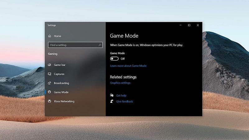 Win10游戏模式导致部分游戏出现严重卡顿现象的照片