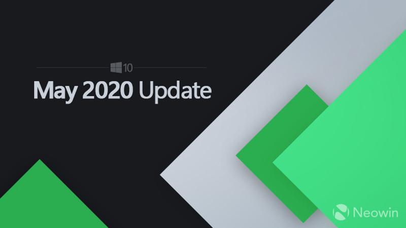 微软或于五月底前正式推送Win10 v2004更新的照片 - 1